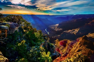 Canyon Landscape Wallpaper