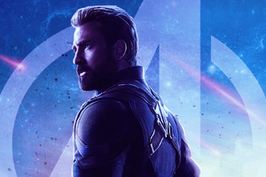 Captain America Avengers Infinity War Movie Wallpaper