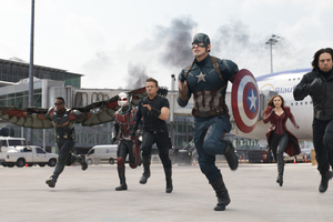 Captain America Civil War Fight Scene
