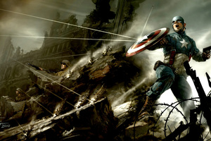 Captain America The First Avenger Artwork
