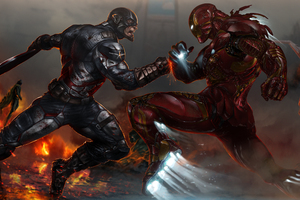 Captain America V Iron Man