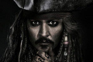 Captain Jack Sparrow Pirates Of The Caribbean Dead Men Tell No Tales Wallpaper