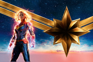 Captain Marvel Movie 2019 12k Wallpaper