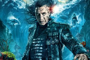 Captain Salaza In Pirates Of The Caribbean Dead Men Tell No Tales Movie Wallpaper