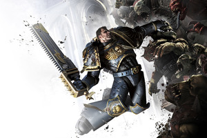 Captain Titus Warhammer 40000 Space Marine 4k
