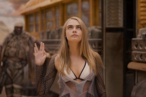 Cara Delevingne As Laureline In Valerian And The City Of A Thousand Planets 4k 5k