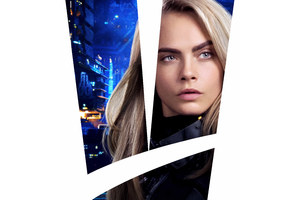Cara Delevingne As Laureline In Valerian And The City Of A Thousand Planets