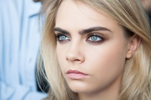 Cara Delevingne Beautiful Eyes