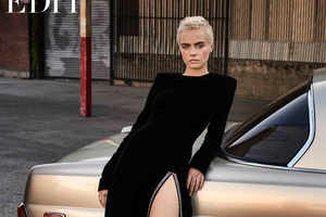 Cara Delevingne The Edit 2017