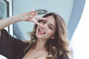 Celine Farach 4k 2018 Wallpaper
