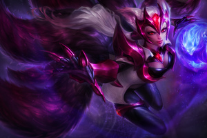 Challenger Ahri League Of Legeneds 8k Wallpaper
