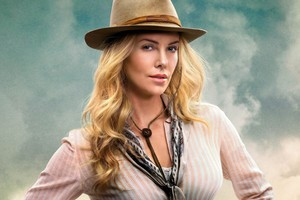 Charlize Theoren In A Million Ways To Die In The West Wallpaper