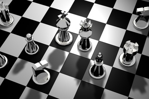 Chess Pieces Wallpaper