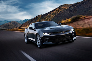 Chevrolet Camaro SS 2018 4k Wallpaper