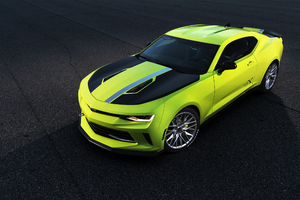 Chevrolet Camaro Turbo AutoX Concept 2016 Wallpaper