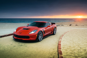 Chevrolet Corvette Z06 Red