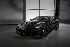 Chevrolet Corvette ZR1 2019 4k
