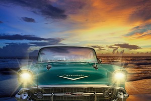 Chevrolet Old Retro Classic Vintage Car Wallpaper