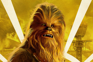 Chewbacca In Solo A Star Wars Story Movie Wallpaper
