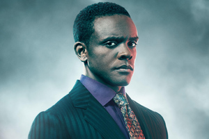 Chris Chalk As Lucius Fox In Gotham Season 5 Wallpaper