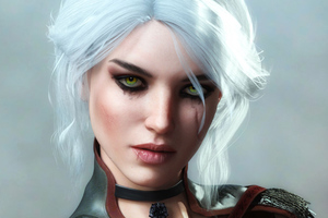 Ciri Fantasy Art 4k Wallpaper