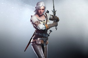 Ciri In The Witcher 3 Wallpaper