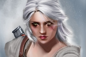 Ciri The Witcher 3 Wallpaper