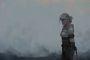 Ciri The Witcher 3 Wild Hunt Fantasy Girl Wallpaper