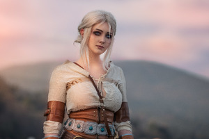 Ciri The Witcher Cosplay