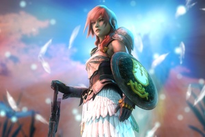 Claire Farron Final Fantasy Video Game Artwork Wallpaper
