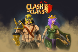 Clash Of Clans 4k