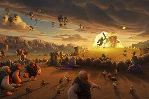 Clash Of Clans Giants War Wallpaper