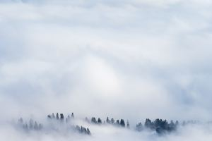 Clouds Snow Fog 5k Wallpaper