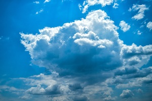 Clouds Summer Weather 5k Wallpaper
