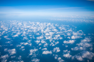 Clouds View From Plane 5k Wallpaper