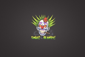 Clown Art Smile Wallpaper