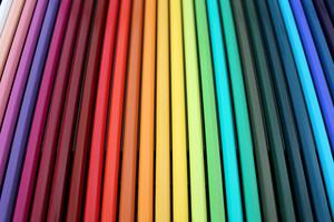 Colorful Crayons Pencils Background 5k Wallpaper