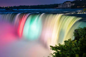 Colorful Niagara Falls Wallpaper