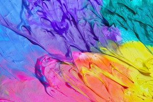 Colorful Paint Splash Abstract 4k Wallpaper