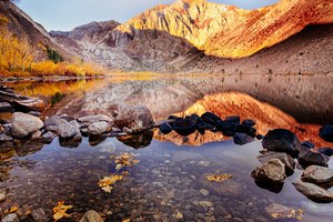 Convict Lake Autumn 4k