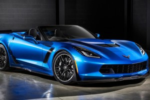 Corvette Convertible 2016 Wallpaper