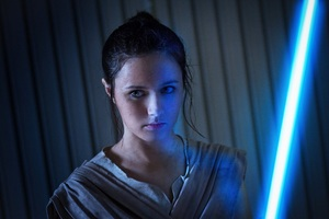 Cosplay Rey Star Wars