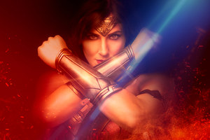 Cosplay Wonder Woman 4k Wallpaper