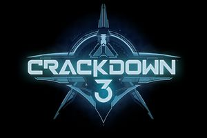 Crackdown 3 Game Logo Wallpaper