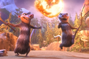 Crash and Eddie Ice Age Collision Course Wallpaper