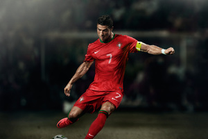 Cristiano Ronaldo Soccer Player 8k Wallpaper