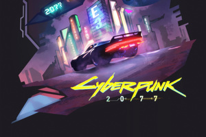 Cyberpunk 2077 Game Fanart Wallpaper