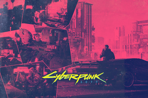 Cyberpunk 2077 Game Wide Wallpaper