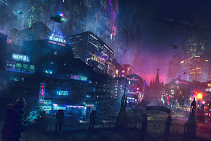 Cyberpunk Artwork Wallpaper