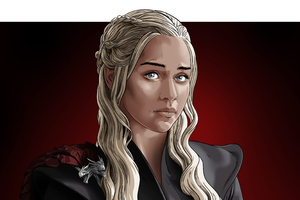 Daenerys Targaryen Game Of Thrones Digital Art Wallpaper